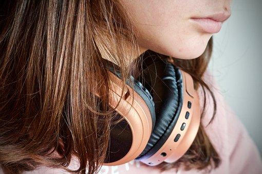 Music, Headphones, Wireless Headphones, Listening