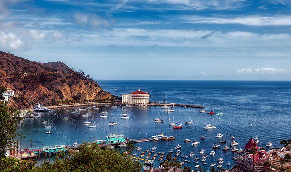 Catalina Island, California, America, Sea, Ocean