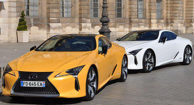 Lexus, Lexus Lc, Car, Vendome, Paris