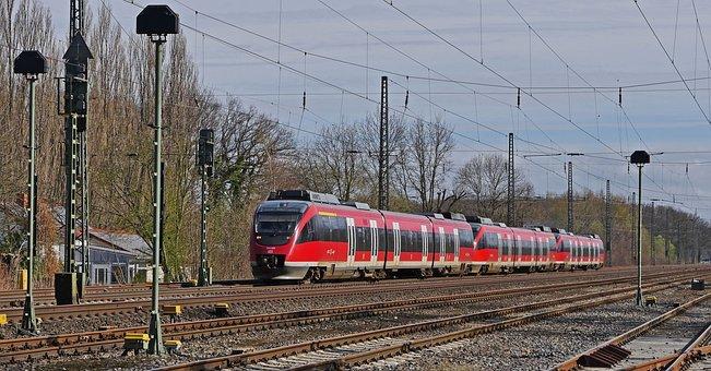 Railway, Diesel Railcar, Regional Train