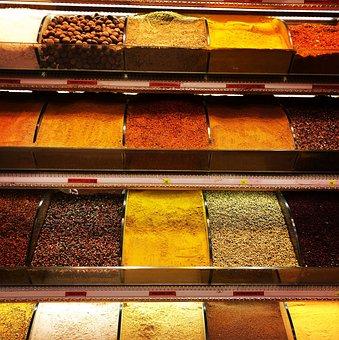 Spices, Turmeric, Cinnamon, Cuisine, Cumin, Coriander
