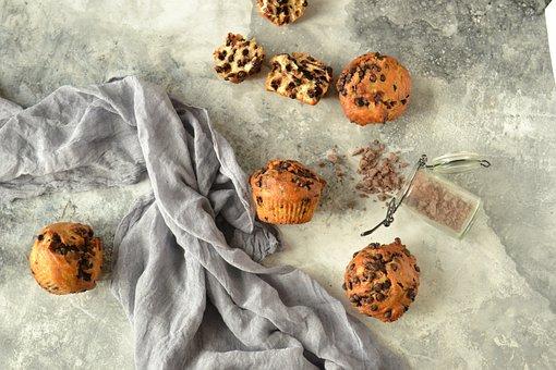 Breakfast, Morning, Coffe, Cappuccino, Sweety, Muffin