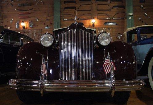 Old, Car, Antique, Packard, Retro, Vintage, Classic