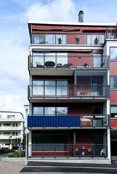 Balcony, Building, Architecture, House, Balconies