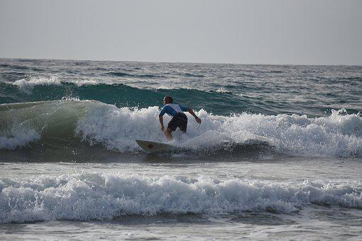 Surf, Water, Sport, Sea, Wave, Ocean, Surfer, Beach