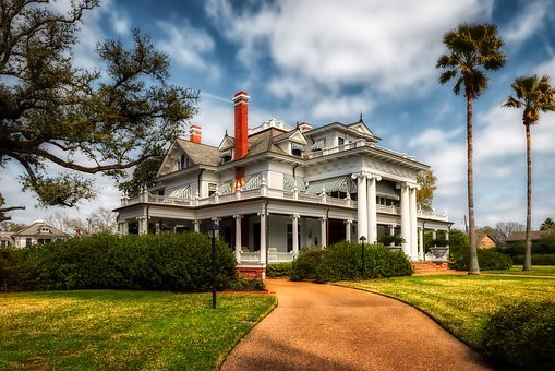 Mcfadden-ward House, Beaumont, Texas, America, Mansion
