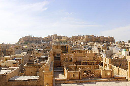 Forts, Places, Jaisalmer, Fort, Architecture, Building
