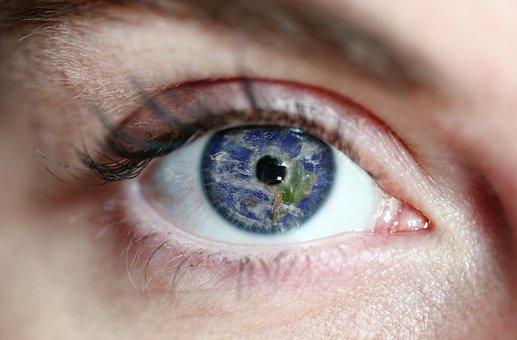 Eye, World, Earth, Environment, Planet, Care, Green