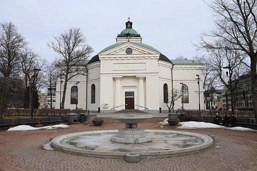 Church, Hämeenlinna, Finnish, Architecture, Building