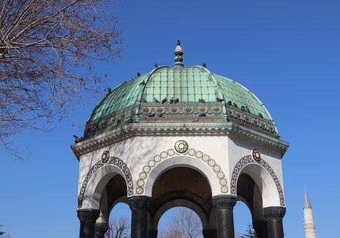 Fountain, Date, Istanbul, Sultanahmet, German, City