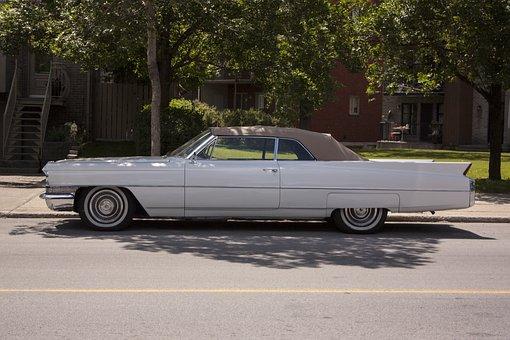 Cadillac, Coupe De Ville, Old, Classic, Usa, Vintage