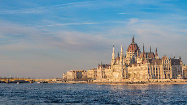 Budapest, Danube, Hungary, Architecture, River, City