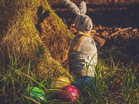 Easter, Egg, Hare, Easter Bunny, Decoration