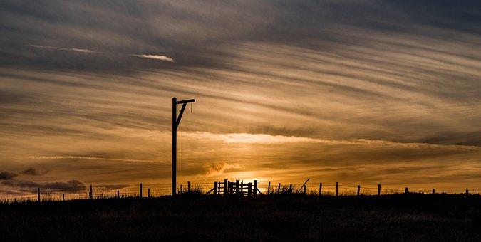 Winter's Gibbet, Elsdon, Northumberland, England