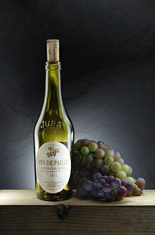 Wine, Bottle, Beverage, Alcohol, Grapes, Cave, Table