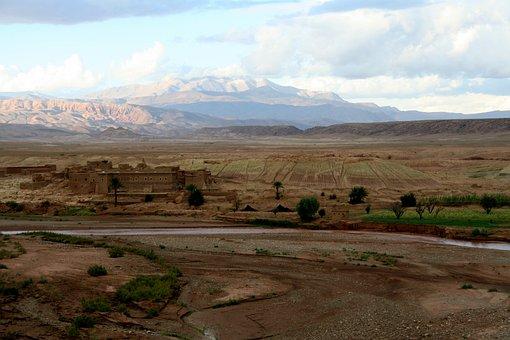Morocco, Atlas, Mountains, Landscape, Nature