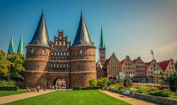 Lübeck, Holsten Gate, Landmark, Historically, City Gate