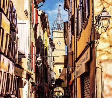 Manosque, France, Provence, Alpes-de-haute-provence