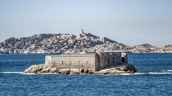 Sea, Isle, Inlet, Harbor, Marseille, France, Provence