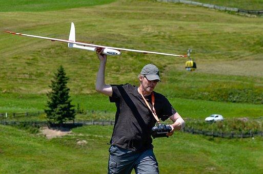 Rc Glider Launch, Model Airplane, Hobby, Glider, Model