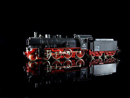 Steam Locomotive, P8, Model Train, Model Railway, Toys