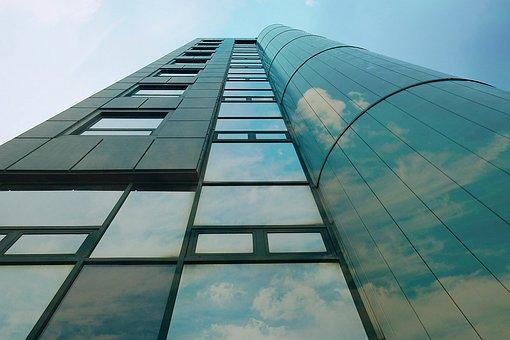 The Skyscraper, View, Architecture, Tall, Modern