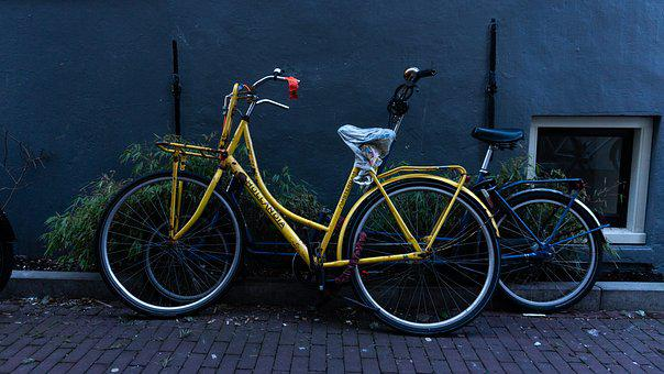 Bicycle, Amsterdam, Netherlands, Bike, Holland, City