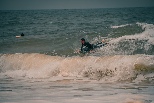 Beach, Surf, Sea, Water, Surfing, Ocean, Summer, Shore
