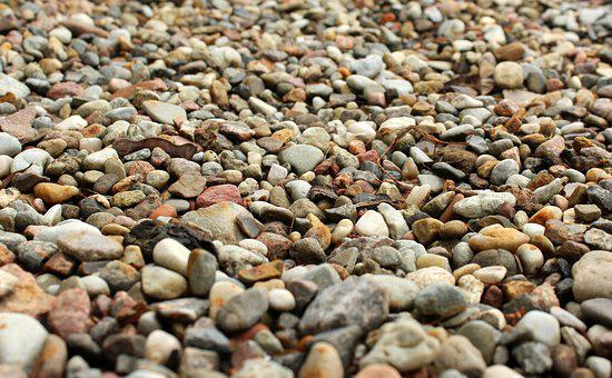 The Stones, Pebbles, Minor, Surface, Plane, Pattern