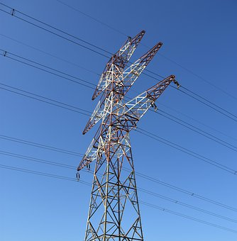 Power Line, Electricity, Line, Sky, Voltage, Power