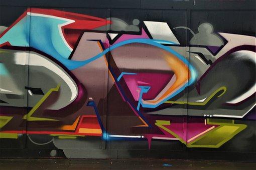Graffiti, Mural, Street Art, Painting, Art, Wall Art