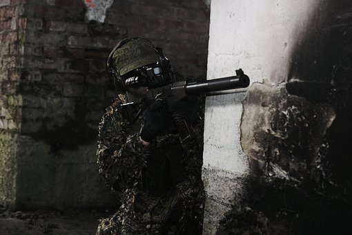 Airsoft, Military, Soldier, The Military, Games, Gun