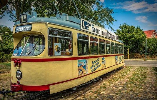 Tram, Railway, Traffic, Train, City, Transport, Rail