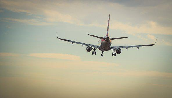 Airplane, Travel, Airport, Flying, Clouds, Jet, Engine