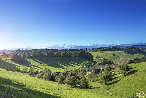 Switzerland, Alps, Mountains, Landscape, Nature, Snow