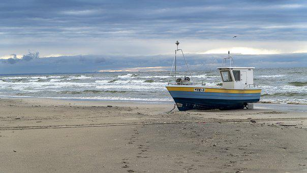 Sea, Fishing, Water, Windy, Fish, Ocean, Nature, Beach