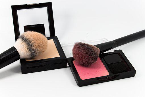 Make Up, Powder, Cosmetics, Makeup, Brush, Beauty