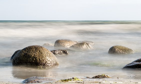 Sea, Baltic Sea, Beach, Coast, Water, Vacations, Wave