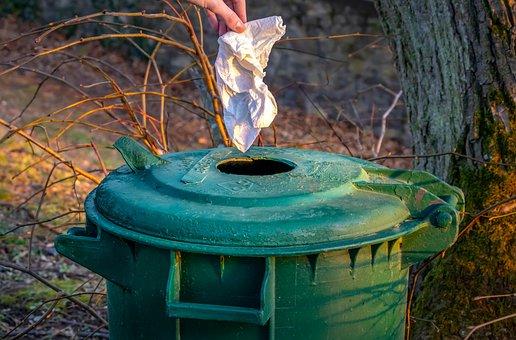 Garbage, Dustbin, Waste, Disposal, Plastic