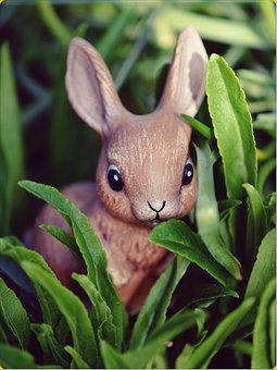 Easter Bunny, Hare, Easter, Bunny, Figure, Cute, Sweet