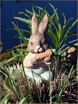 Easter, Easter Bunny, Hare, Figure, Cute