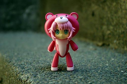 Petit, Guy, Chara, Momo, Toy, Action, Figure, Figurine