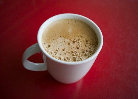 Coffee, Cup, Foam, Caffeine, Morning, Food, Hot