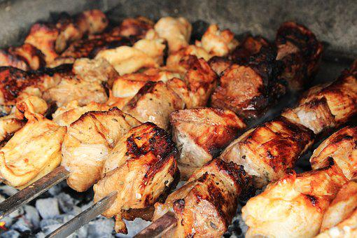 Bbq, Pork, Chicken, Barbecue, Meat, Grill, Food, Dinner