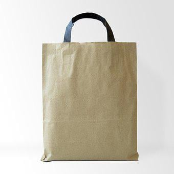 Bag, Kraft Paper, Paper, Blank, Kraft, Container, Brown