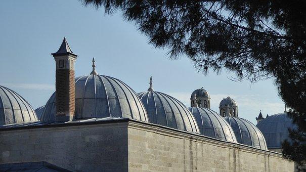 Dome, Mosque, Turkey, Architecture, Religion