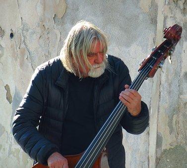 Street Musician, Prague, Street, Music, Musician