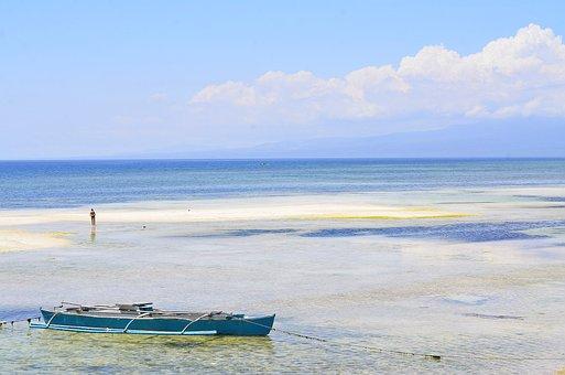 Siquijor, Philippines, Beach, Water, Resort, Sand