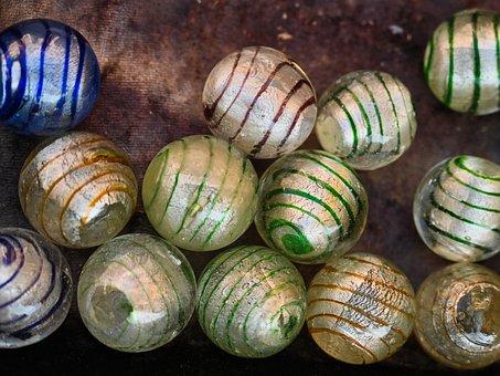 Marbles, Glaskugeln, Balls, Round, Glass Marbles, Toys