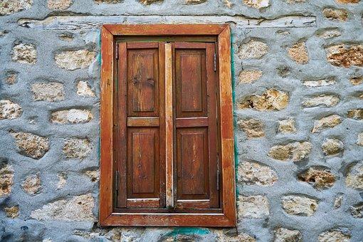 Window, Wall, Stone, Solid, Street, Wood